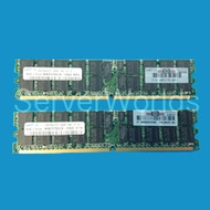HP 1GB PC2 5300  Single Rank Memory Kit 408850-B21