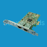 HP Dual Port 1GB 332T NIC 616012-001 615730-001 615732-B21 - both brackets