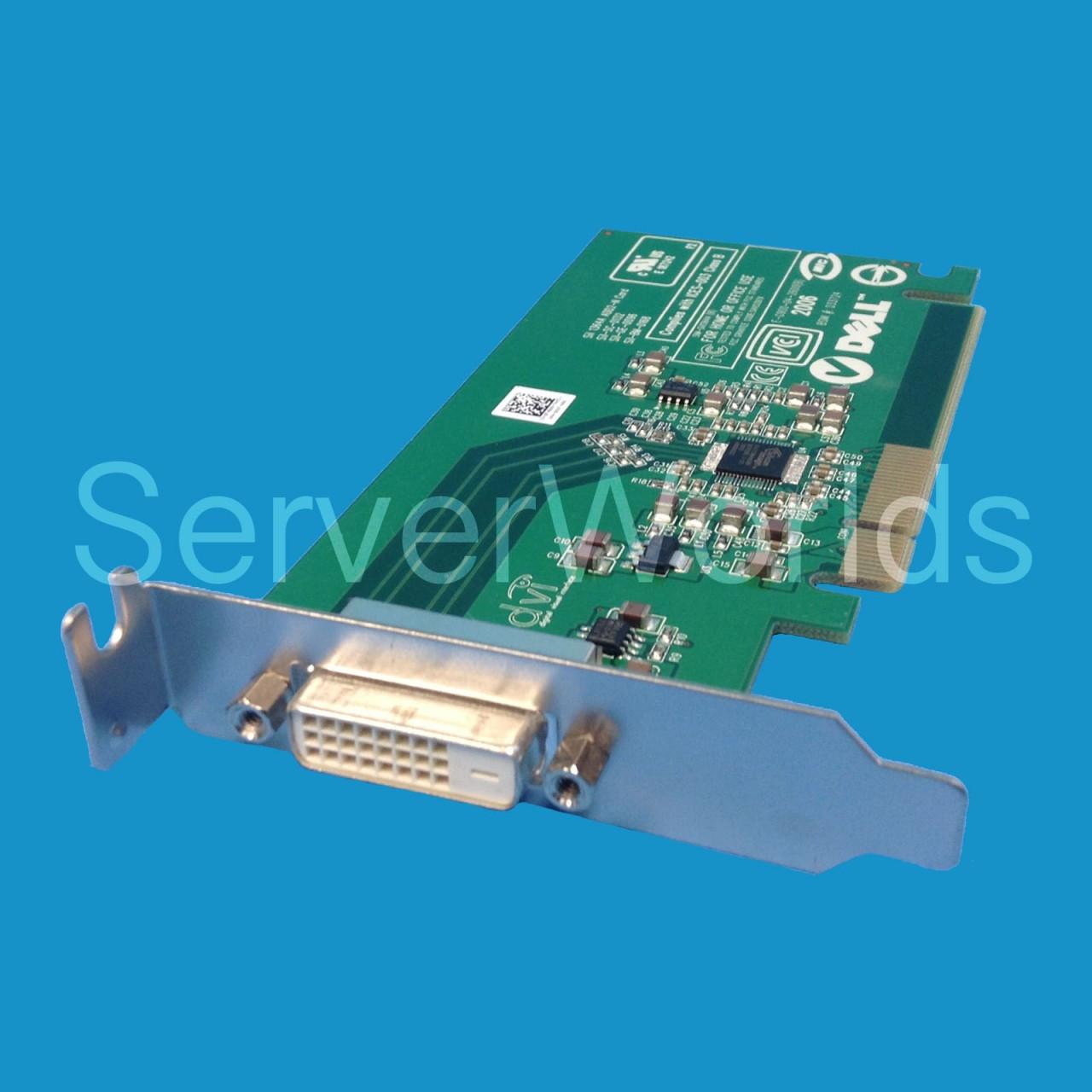 Dell FH868 | Optiplex PCIe DVI Low Profile Video Card - Serverworlds