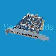 Adaptec 3 x USB 2 x Fire Wire PCI Card AUA-3121