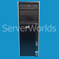 Refurbished HP Z400 1 x 6C 2.66GHz, 24GB, 450GB 15K SAS, FX1800