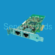 Dell 9NG48 Intel PCIe 2 x 10/100/1000 Low Profile Network Adapter