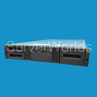 Refurbished HP MSL2024 2x LTO3 SCSI Library AH170A Front View