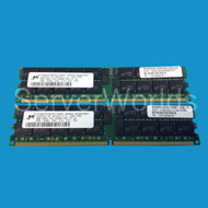SUN 4GB (2 x 2GB DDR2) Memory Kit X7802A