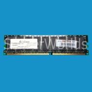 HP 260654-041 256MB PC2100 DDR ECC Memory Module