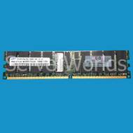 HP 405476-051 2GB PC2-5300 DDR2 ECC Memory Module 416357-001