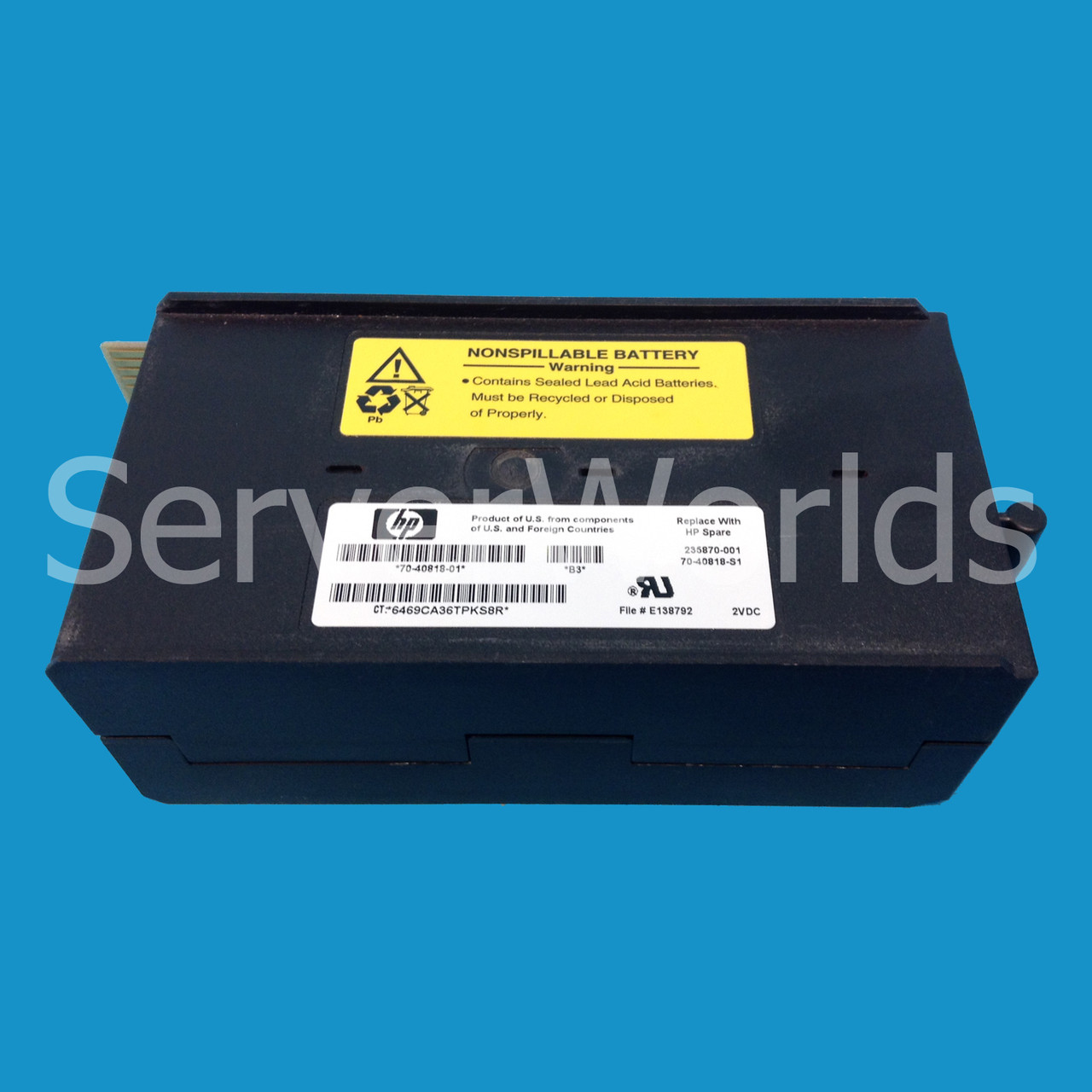 HP 70-40818-01 Nonspillable Battery