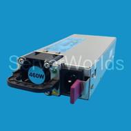 HP 511777-001 DL 360 G6 460W Power Supply 499249-001, 503296-B21