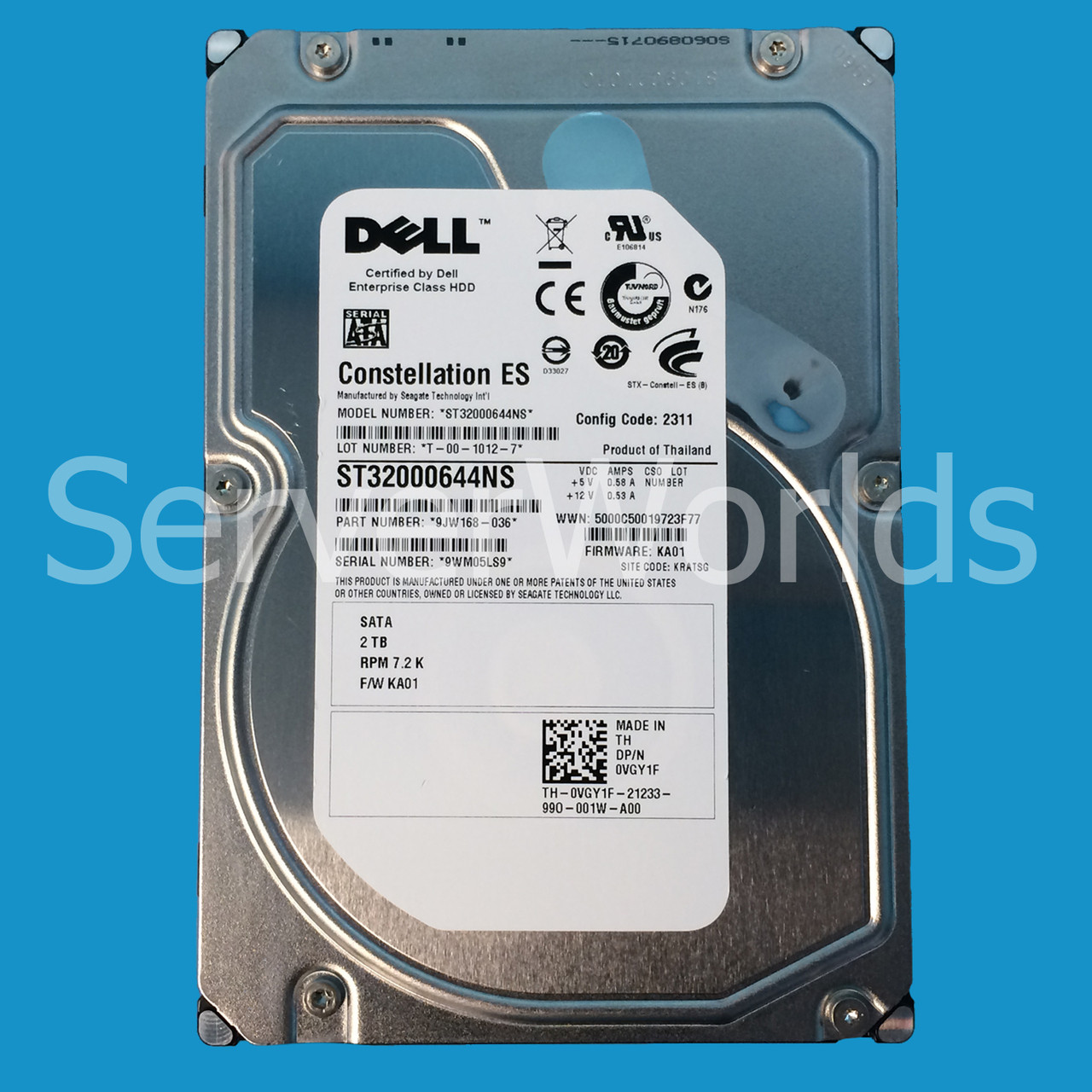 Driver: Dell XPS 8300 Seagate ST32000641AS