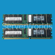 HP 395409-B21 8GB Reg PC2700 2X4GB Memory Kit