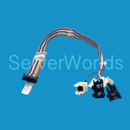 HP 287181-001 ML 330 G3 Powerswitch with LED Cable