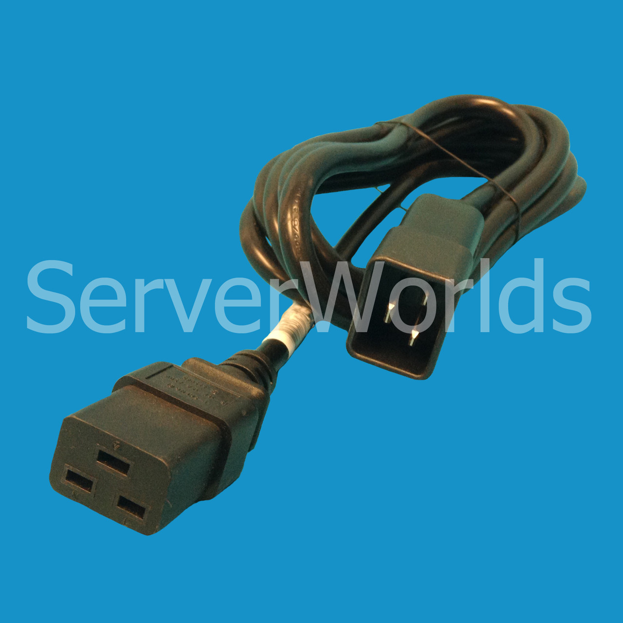 HP 319304-001 2 5M C19-C20 Power Cable 242867-002
