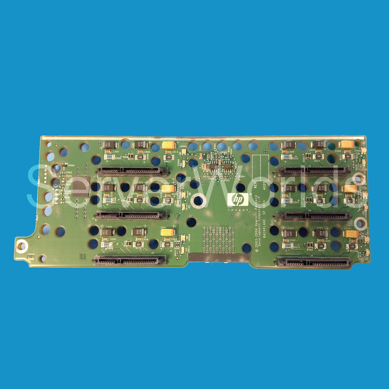 LOT OF 2 HP 454574-001 Backplane Board for MSA60 454572-001 012442-000