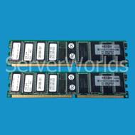 HP 300682-B21 4GB Kit (2 x 2GB) PC2100 DDR ECC Memory