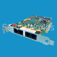 Dialogic D/4PCIu 4 Port Universal PCI Voice Board