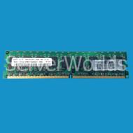 HP 384706-061 2GB PC2-5300 U ECC DDR2 Memory DIMM 382281-001, PV942A