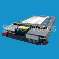 HP 127965-001 18.2GB U2 10K SCSI Hot Plug Hard Drive 127980-001 143920-001