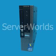 Optiplex 990 USFF, i5-2400S QC 2.5Ghz, 8GB, 1 x 128GB SSD, DVD-RW