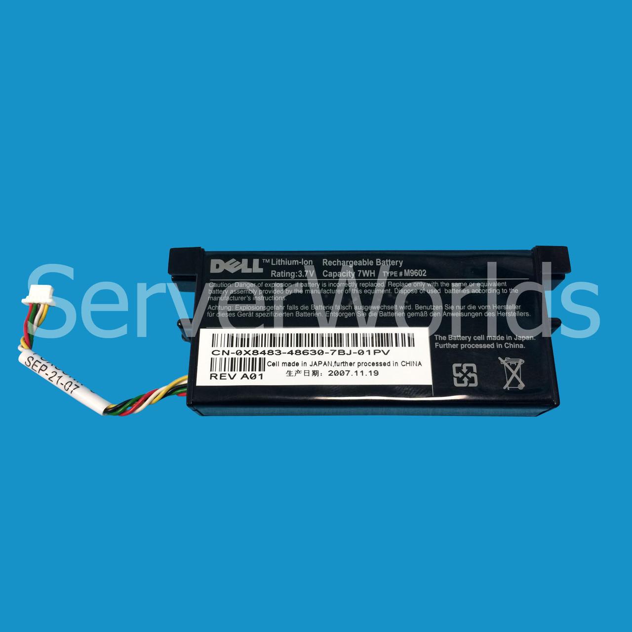 Dell X8483   Perc 5e 6e Raid Controller Battery   M9602