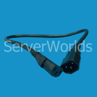 Dell 95DYN C13 to C14 2FT Extension Power Cord