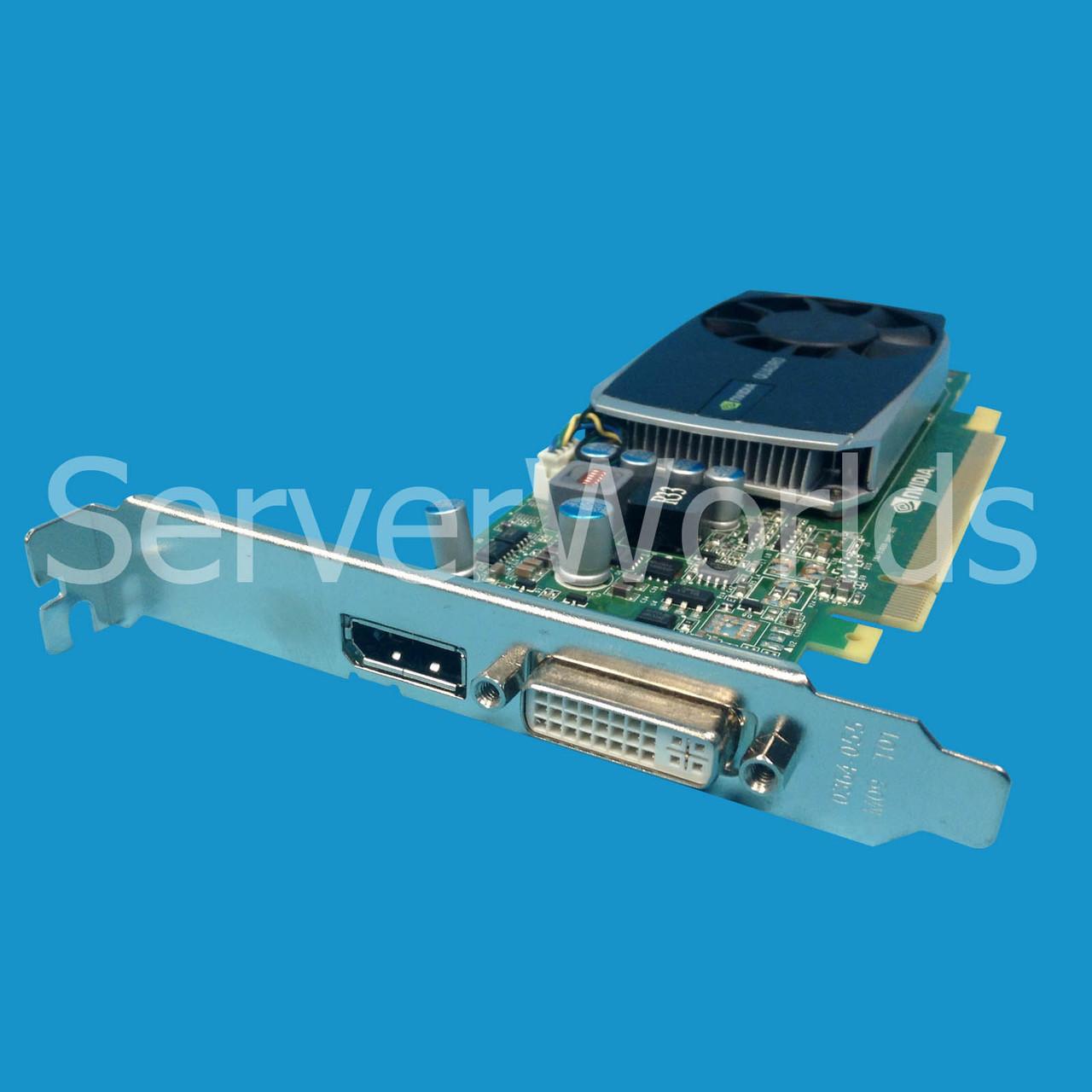 HP NVIDIA QUADRO 600 1GB GDDR3 PCI-E VIDEO GRAPHICS CARD LP   671135-001
