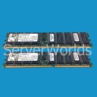 Kingston KTM3281/2GB (2x1GB) PC1600 DDR ECC Memory