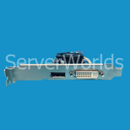 HP 677983-001 HD7450 Graphics 1GB PCIe Adapter 677894-001, 697247-001