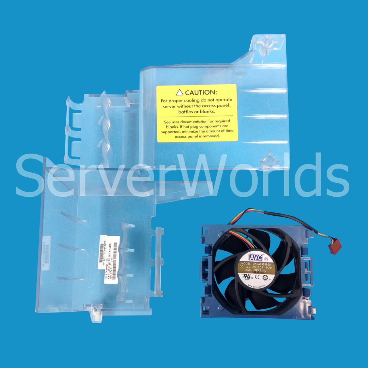 HP 515081-B21   ML350 G6 Baffle Fan Assembly   HP 511772-001