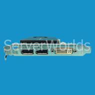 HP 671136-001 PCIe Nvidia Quadro 2000 1GB Video Adapter 612592-001