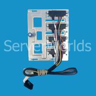 HP 686746-001 ML310E Gen8 4-Bay LFF Hard Drive Backplate 674792-001