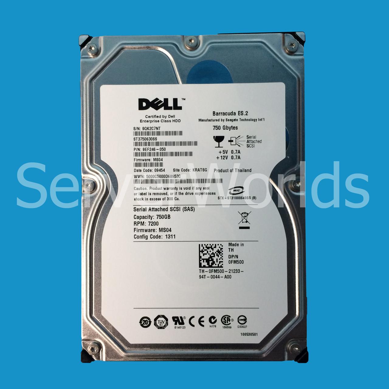 Dell FM500 | ST3750630SS | 9EF246-050 - Serverworlds