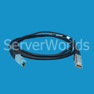 EMC 038-003-509 HSSDC2 to HSSDC2 2M Cable
