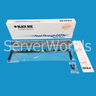 Black Box JPM804A-R2 Sheilded 24-Port CAT5E Feed-Through Patch Panel