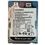 "HP 497730-001 250GB SATA 2.5"" Hard Drive 531292-002"