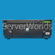 Refurbished Powervault 132T Tape Autoloader With 2 SDLT Drives Front Panel