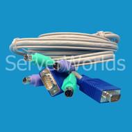 HP 147095-001 KVM Cable Assembly 127016-001, 110936-B21