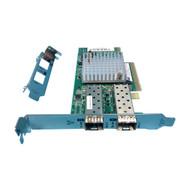 HP 733385-001 Dual Port 10GB 571SFP Controller w/ Both Brackets