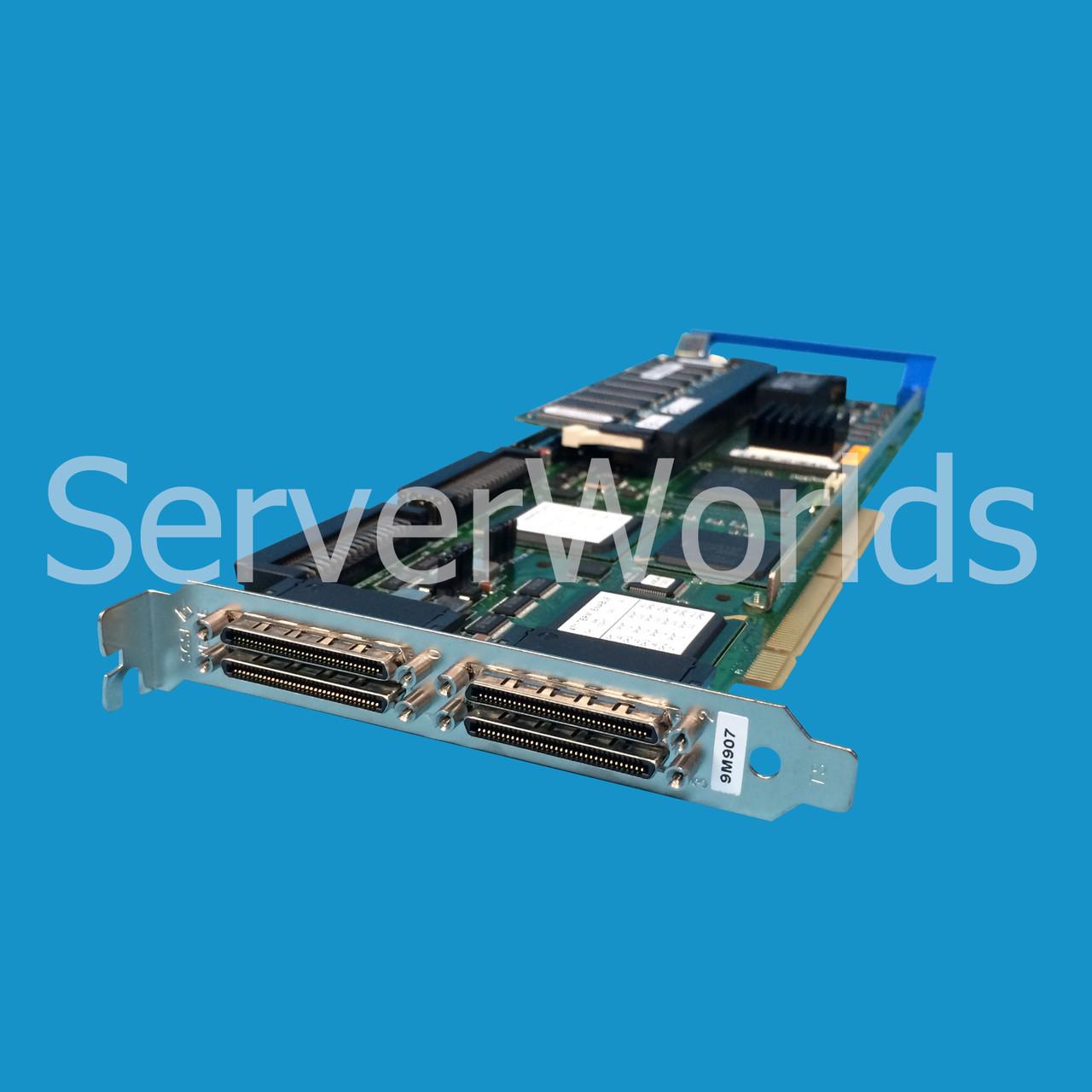 Dell 9M907 | Perc 3 QC Raid Controller w/128MB and BBU - Serverworlds