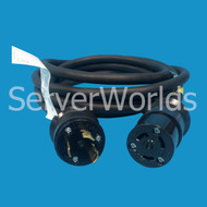 EMC 038-003-438 10FT L6-30 Male to L6-30 Femail 30A 250V Power Cord