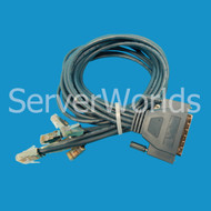 Cisco 72-0845-01 Octal 8 Lead 68-Pin to 8 Male RJ-45 Cable