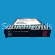HP 653966-001 200GB SSD 2.5 3G SATA MLC Gen8 HotPlug 637067-001