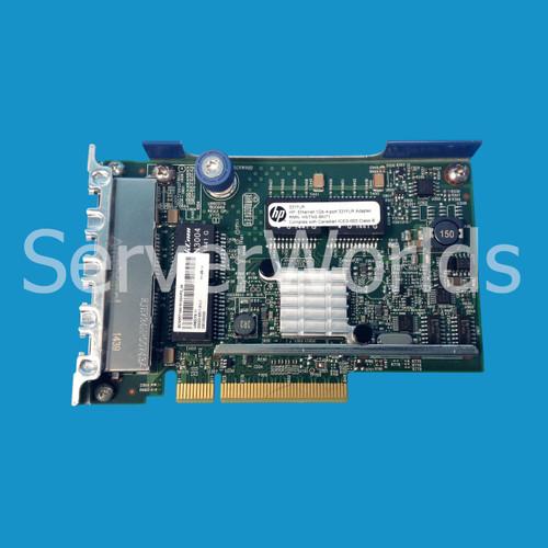 HP 634025-001 789897-001 331FLR 1GB 4-Port Ethernet Adapter