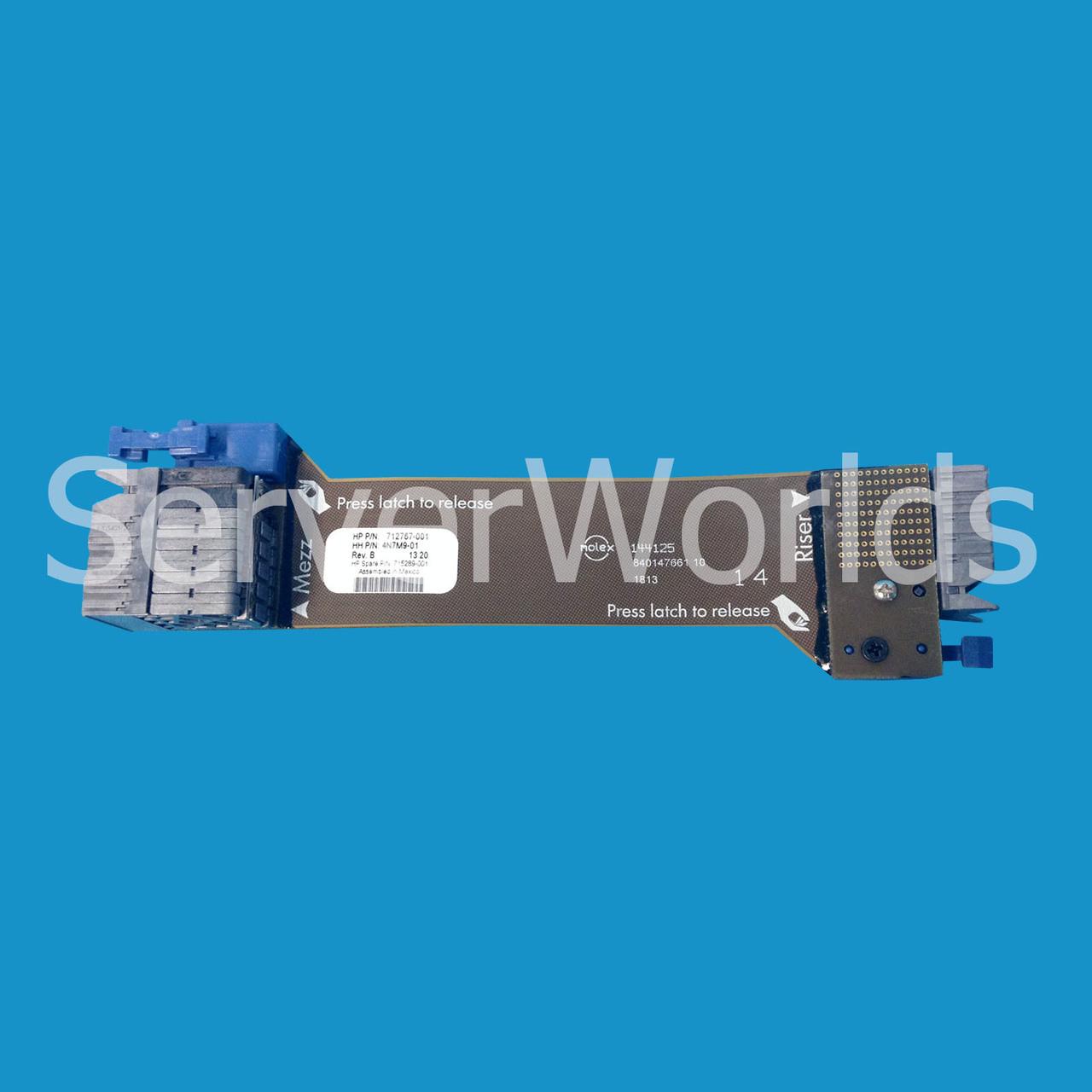HP 712767-001   PCIe Gen3 GFX Cable - Serverworlds