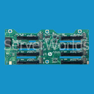HP 643705-001 DL380e/385p Gen8 SFF Backplane Board