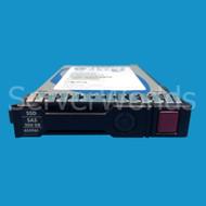 "HP 653961-001 200GB SAS 2.5"" 6G SSD 653081-001, 653078-B21, 653078-S21"