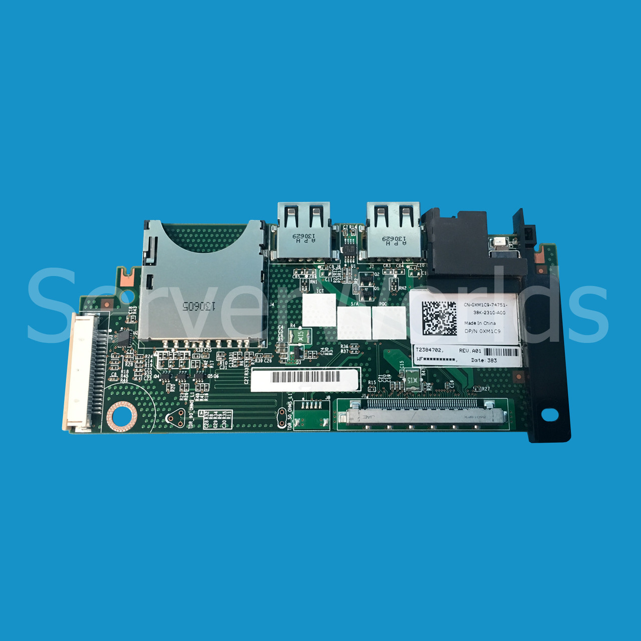 Dell XM1C9   Poweredge R620 Control Panel Board - Serverworlds