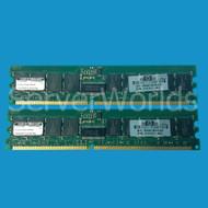 HP 371048-B21 2GB (1 x 1GB) PC2700 DDR SDRAM Kit RoHS