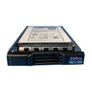 """Dell W4033 Compellent 200GB SAS 6GBPS 2.5"""" SSD HUSSL4020BSS600 0B27412"""