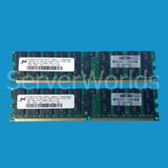 HP 408854-B21 8GB (2 x 4GB) PC2-5300 ECC Reg Memory Kit