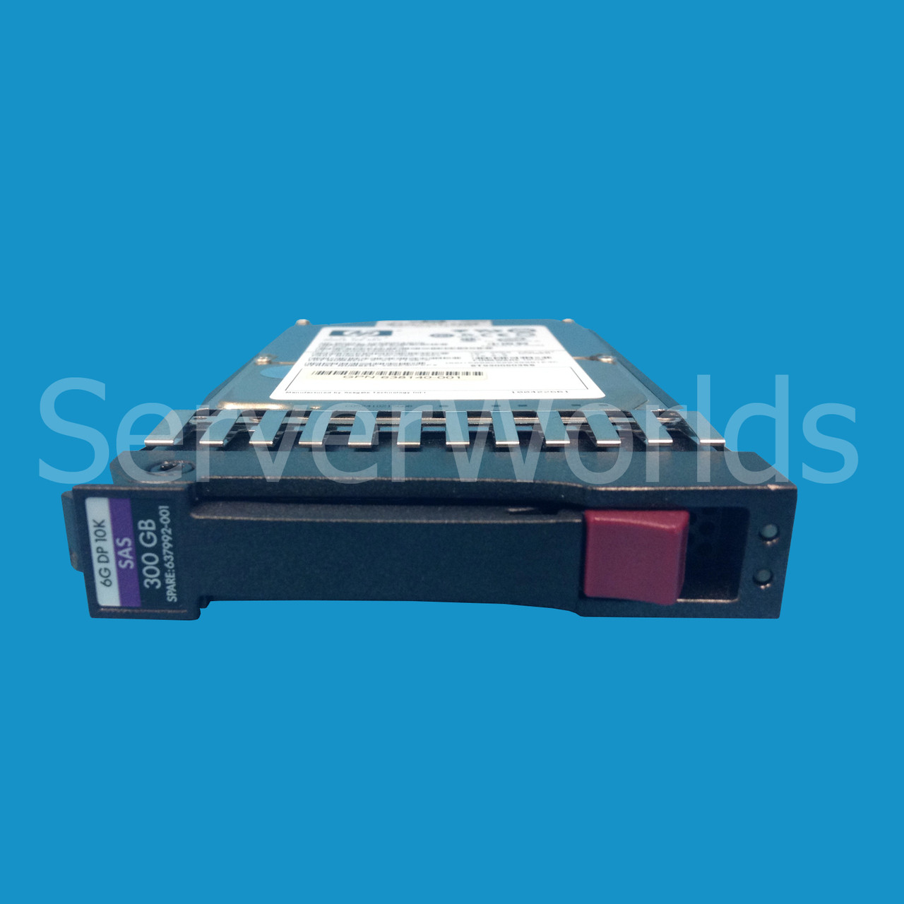 "HP 2.5/"" 300GB 10K 6G SAS Hard Drive 637992-001"